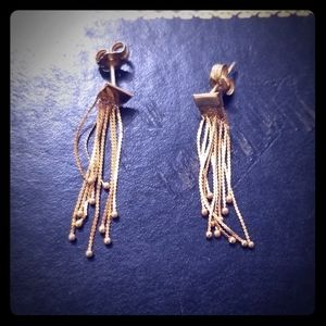 Vintage 14kt earrings